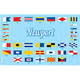 Rhode Island - Nautical Flag Newport