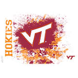 Virginia Tech Hokies Splatter