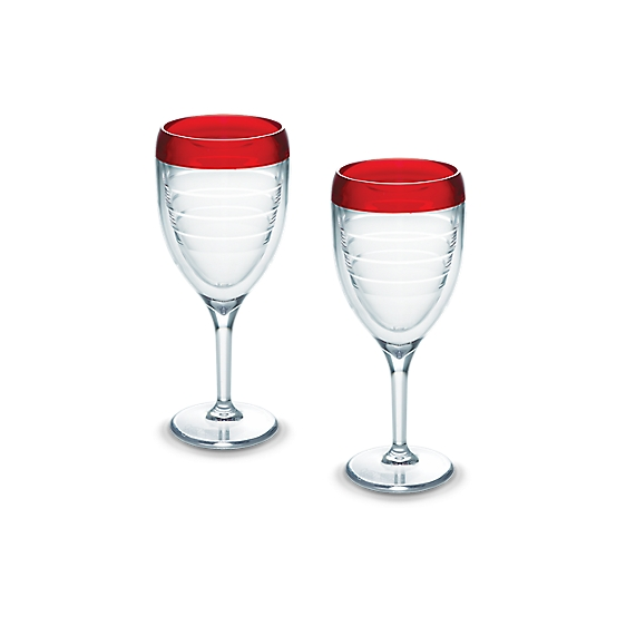 Wine Glass, Cherry Fizz