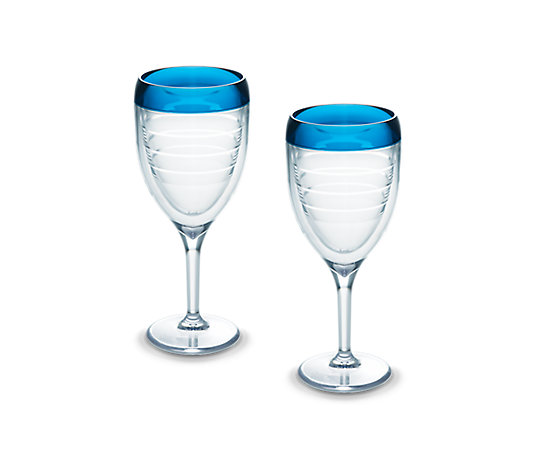 Wine Glass, Blue Infusion