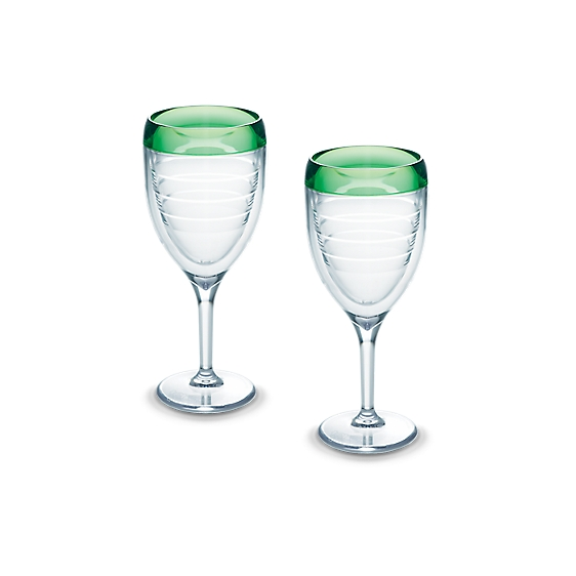 Wine Glass, Mint Sprig