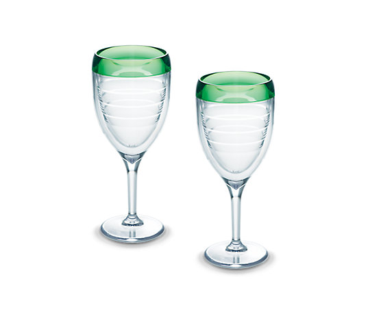 Wine Glass, Mint Sprig