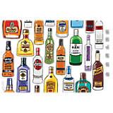 Liquor Bottles Shaker