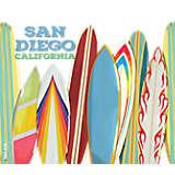 California - San Diego Surfboards