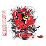 Illinois State Redbirds Splatter