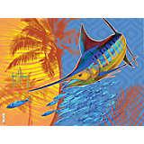 Guy Harvey® - Endless Summer Marlin Palm Tree