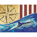 Guy Harvey® - Endless Summer Marlin Compass