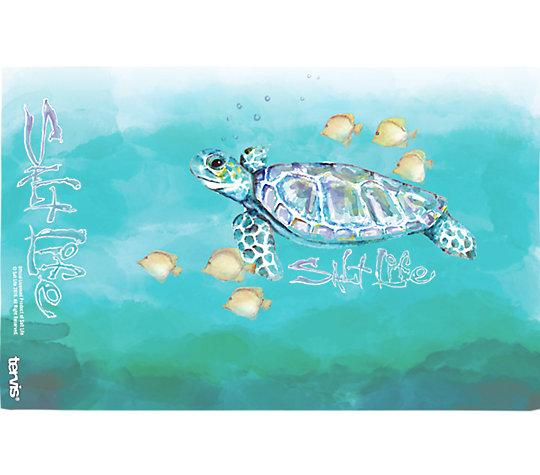 Salt Life® - Watercolor Sea Turtle image number 1