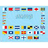 Maryland - Nautical Flag Annapolis