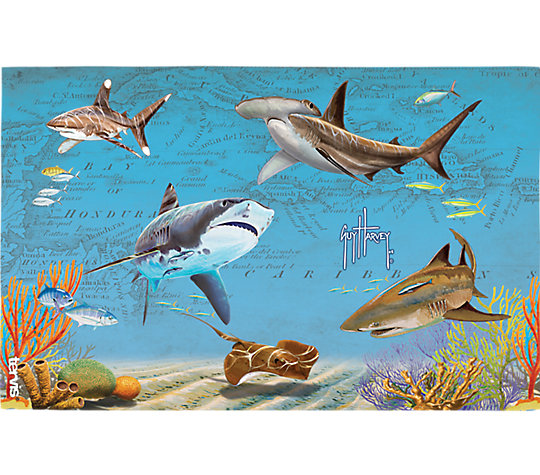 Guy Harvey® - Shark Map image number 1