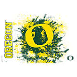 Oregon Ducks Splatter