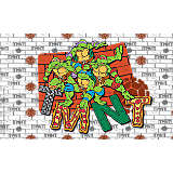 Nickelodeon™ - Teenage Mutant Ninja Turtles Group Logo