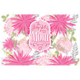 The Very Best Mom Pink Mums