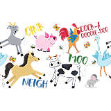 Farm Animals - Group
