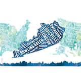 Kentucky  Typography Map