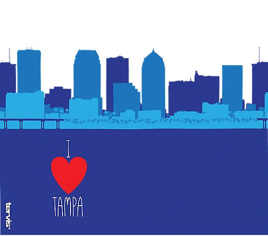 Florida - I Heart Tampa Skyline image number 1