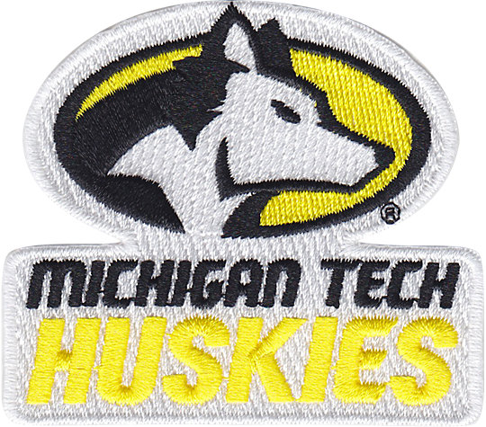 Michigan Tech Huskies Primary Logo image number 1