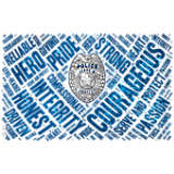 Police Officer Courageous Wordle
