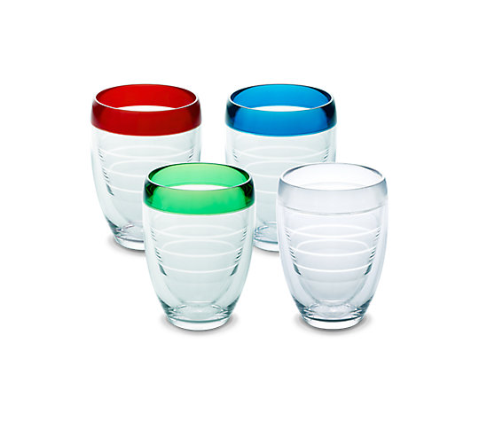 Stemless Wine Glass, Multi Color