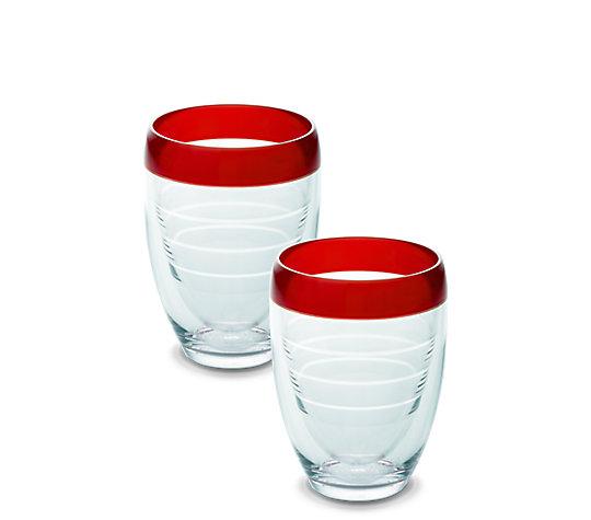 Stemless Wine Glass, Cherry Fizz