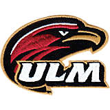 ULM Warhawks Primary Logo