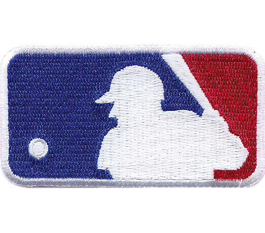 MLB® Silhouetted Batter Logo image number 1