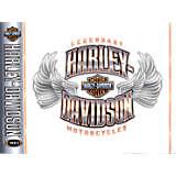 Harley Davidson - Chrome Wing Logo