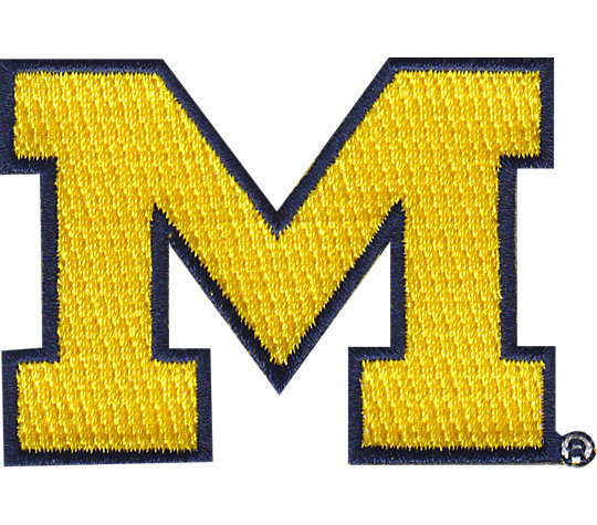 Michigan Wolverines Big M image number 1