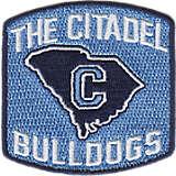 Citadel Bulldogs Primary Logo