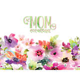 Mom - Watercolor Floral