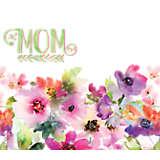 Mom - Watercolor Floral
