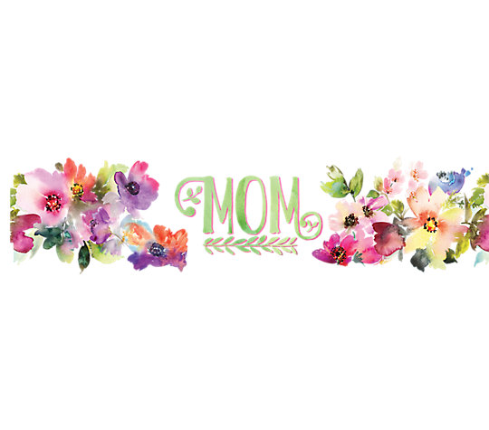 Mom - Watercolor Floral image number 1