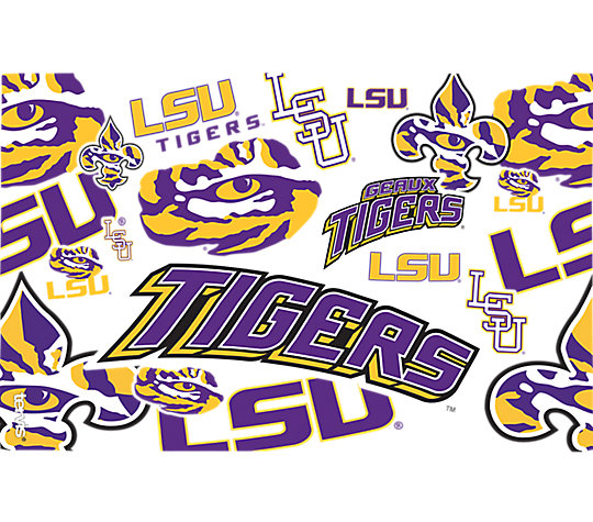 LSU Tigers All Over image number 1