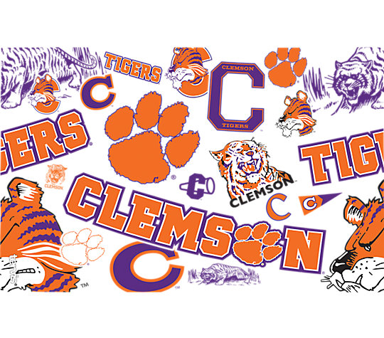 Clemson Tigers All Over image number 1
