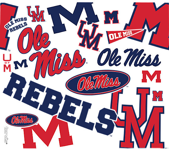 Ole Miss Rebels All Over image number 1