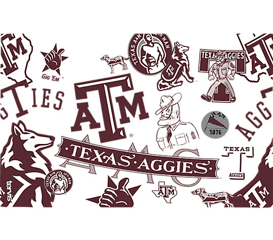 Texas A&M Aggies All Over image number 1