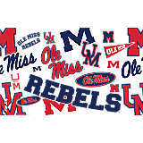 Ole Miss Rebels All Over