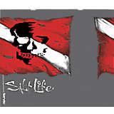Salt Life® - Skull Dive Flag