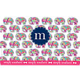 INITIAL-M Simply Southern® Elephant