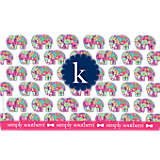 INITIAL-K Simply Southern® Elephant
