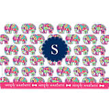 INITIAL-S Simply Southern® Elephant