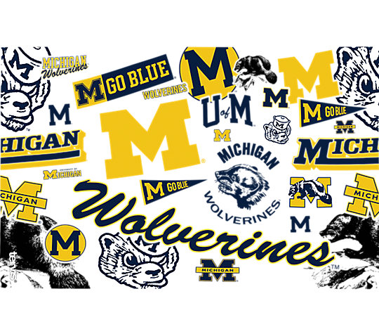 Michigan Wolverines All Over image number 1