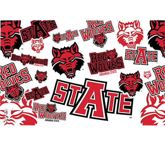 Arkansas State Red Wolves All Over image number 1