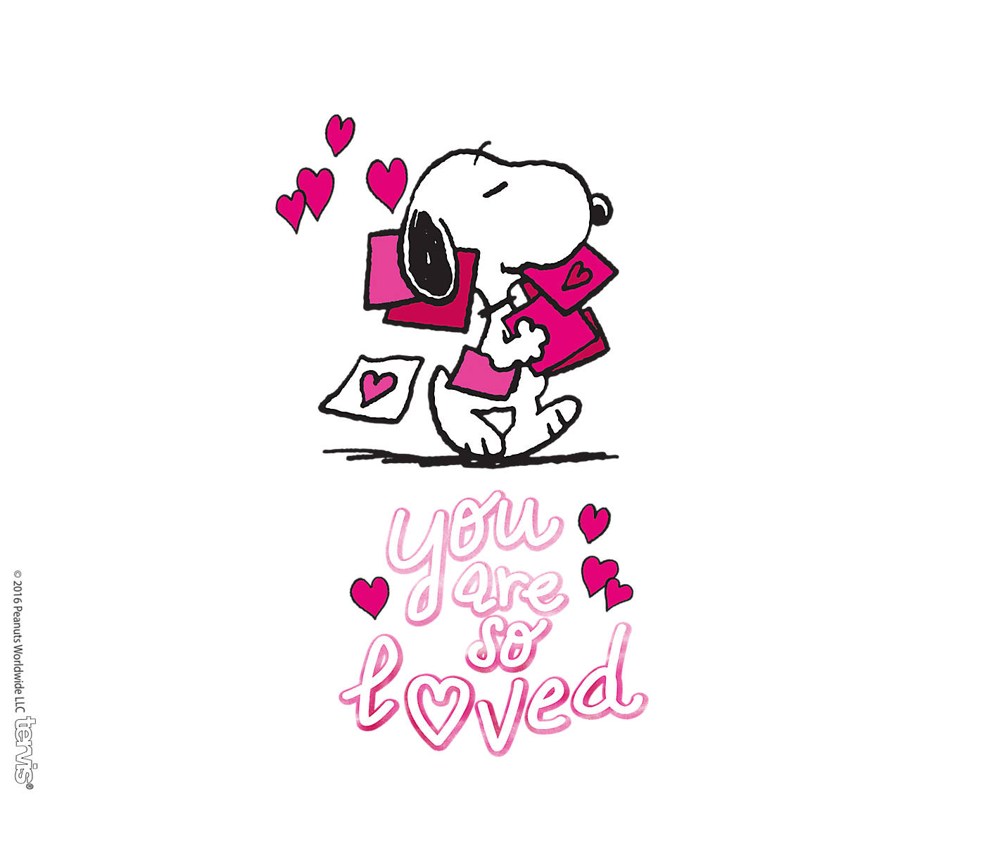 CafePress Snoopy You are So Loved Nightshirt