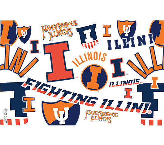 Illinois Fighting Illini All Over image number 1