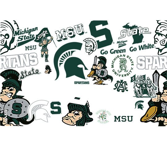 Michigan State Spartans All Over