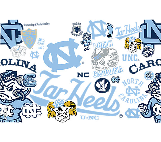 North Carolina Tar Heels All Over image number 1