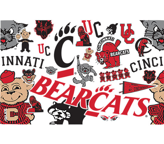 Cincinnati Bearcats All Over image number 1