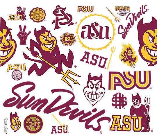 Arizona State Sun Devils All Over