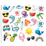 emoji™ -  Tropical All Over